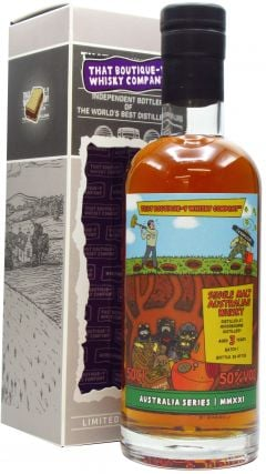 Riverbourne - That Boutique-Y Whisky Company Batch #1 3 year old Whisky