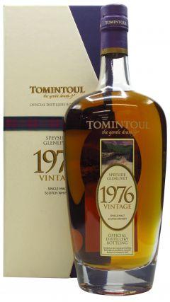 Tomintoul - 1976 Vintage Single Malt - 1976 30 year old Whisky