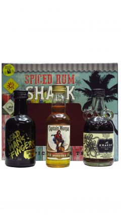 Various Distilleries - Spiced Rum Shack 3 X 5cl Gift Pack Rum