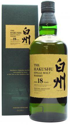 Hakushu - Japanese Single Malt (Old Bottling) 18 year old Whisky