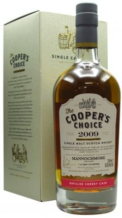 Mannochmore - Cooper's Choice - Refill Sherry Butt - 2009 12 year old Whisky