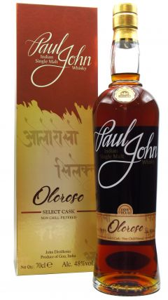 Paul John - Oloroso Select Cask Whisky