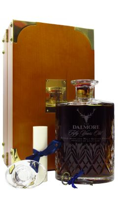Dalmore - Sherry Cask Crystal Decanter - 1928 50 year old Whisky