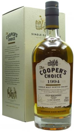Loch Lomond - Cooper's Choice - Old Rhosdhu - Bourbon Cask - 1994 27 year old Whisky