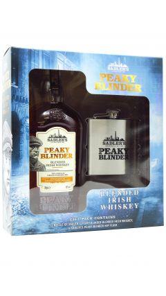 Peaky Blinders - Hip Flask Gift Pack w/ Irish Whiskey