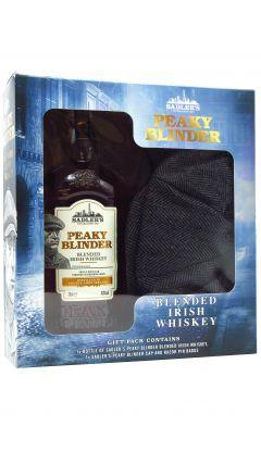 Peaky Blinders - Flat Cap Gift Pack w/ Irish Whiskey