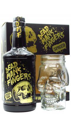 Dead Man's Fingers - Spiced & Skull Glass Gift Pack Rum