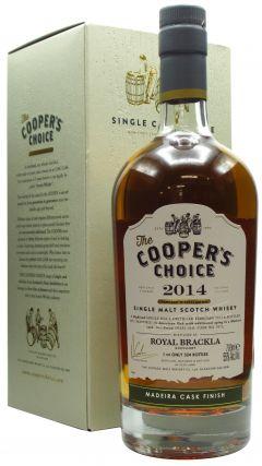 Royal Brackla - Cooper's Choice - Madeira Finish - 2014 7 year old Whisky