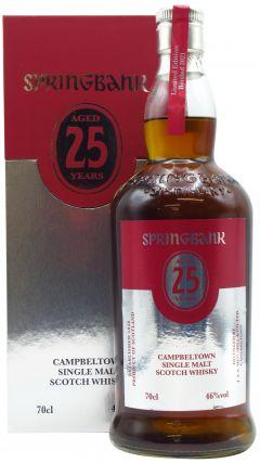 Springbank - Campbeltown Single Malt 2021 Edition 25 year old Whisky