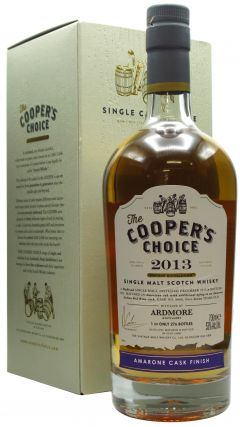 Ardmore - Cooper's Choice - Amarone Finish - 2013 7 year old Whisky