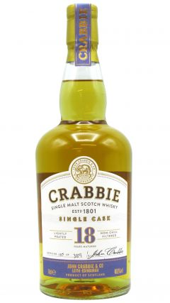 Crabbie - Single Cask 18 year old Whisky