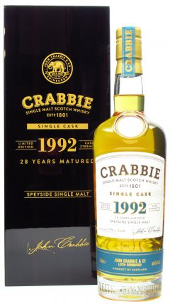 Crabbie - Single Malt - 1992 28 year old Whisky