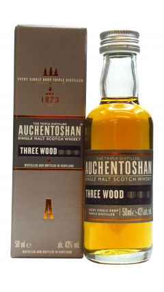 Auchentoshan - Three Wood Miniature Whisky