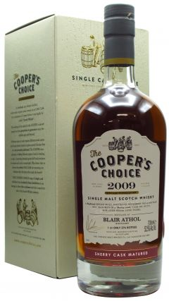 Blair Athol - Cooper's Choice - Single Cask Sherry Butt - 2009 11 year old Whisky