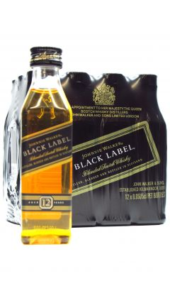 Johnnie Walker - Multi Pack - 12 X Black Label Blended Scotch Miniature 12 Year Old 12 year old Whisky