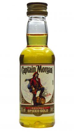 Captain Morgan - Original Spiced Gold Miniature Rum