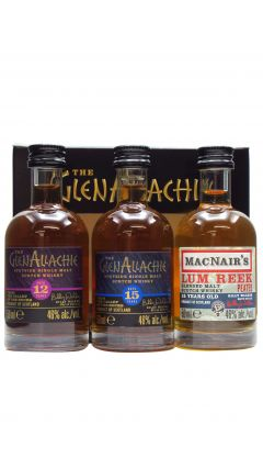 GlenAllachie - Collection 3 X 5cl Miniatures Gift Set (2021 Edition) Whisky
