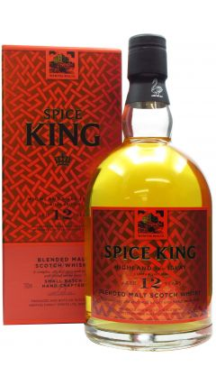 Wemyss Malts - Spice King Highland And Islay 12 year old Whisky