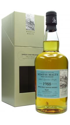 Bunnahabhain - Salted Liquorice Drops Single Cask - 1988 30 year old Whisky