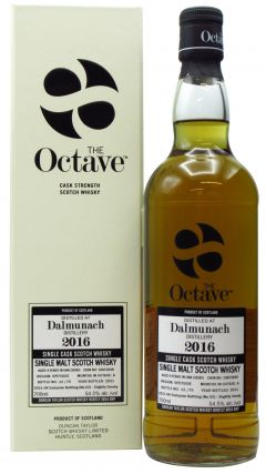 Dalmunach - The Octave Batch #2 - Single Cask #10825848 - 2016 4 year old Whisky