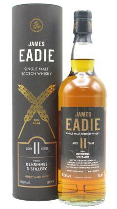 Benrinnes - James Eadie Oloroso Sherry Cask Finish Single Malt  - 2008 11 year old Whisky