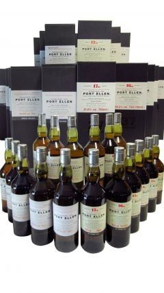 Port Ellen (silent) - Annual Releases Complete Set - 1st to 17th Release Whisky
