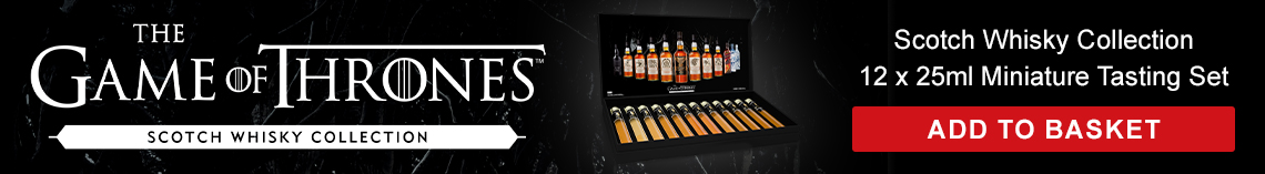 Game of Thrones Scotch Whisky Collection - 12 x 25ml Miniature Tasting Set - Add to Basket