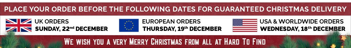 Christmas 2019 Delivery Dates