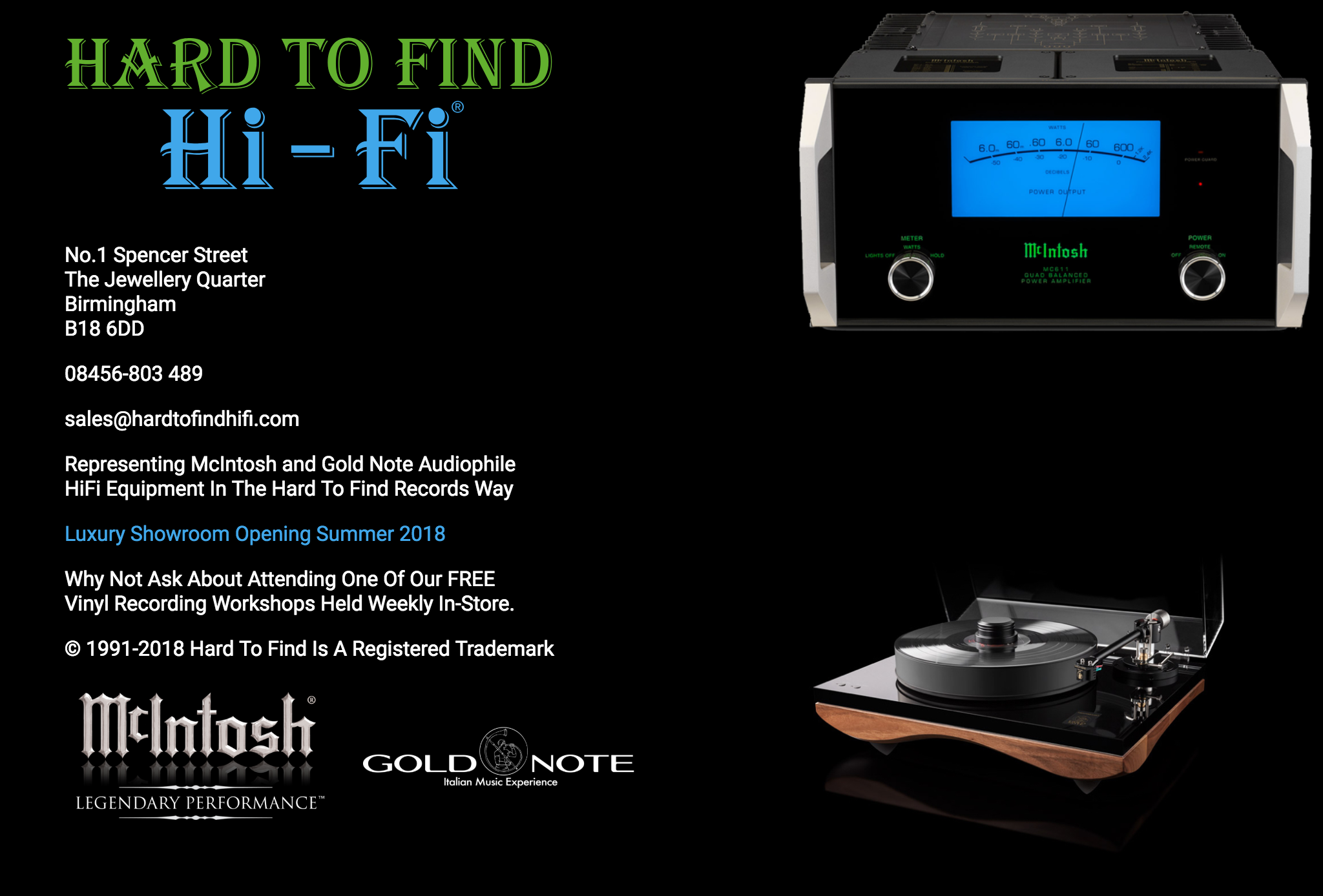 Hard To Find Hi-Fi